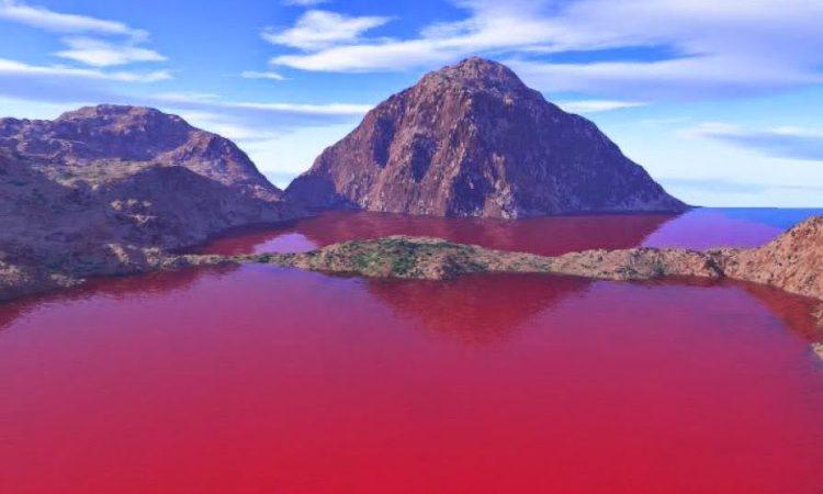 Danau Merah Rimba Candi