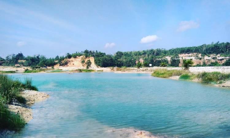 Danau Biru Banyuasin