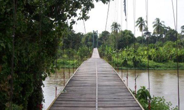 Jembatan Gantung Campang