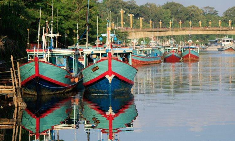 Kampung Nelayan Sungsang
