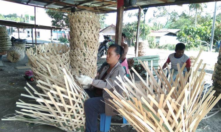 Keranjang Bambu Khas Simalungun