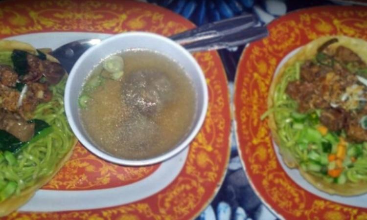 Sop Silungkang Rumah Makan Pondok Selohan