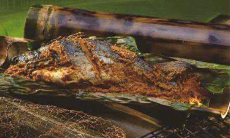 Ikan Sema Masak Bambu