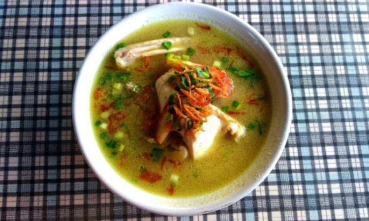 Sop Ayam Kampung Pak Wo