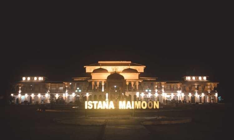 Bagian Istana Maimun