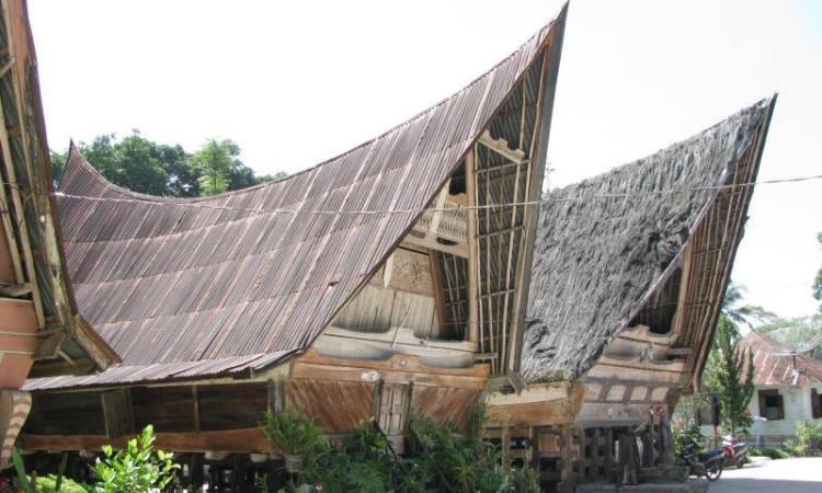 Struktur Bangunan Rumah Bolon