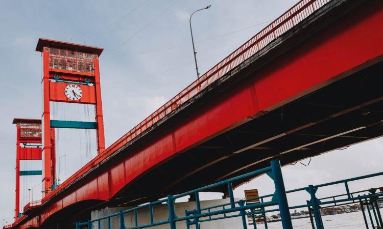 Alamat Jembatan Ampera