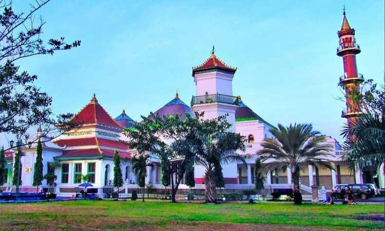 Desain Masjid Agung Palembang