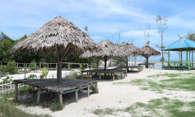 Fasilitas di Pantai Mangrove Kampung Nipah