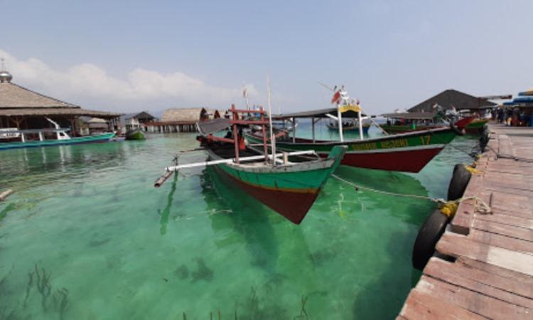 Fasilitas di Pulau Tegal Mas
