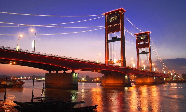 Jembatan Ampera, Mengintip Keindahan Ikon Kota Palembang di Tepian Musi