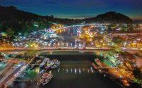 Jembatan Siti Nurbaya, Menikmati Malam di Ikon Wisata Kota Padang