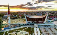 Masjid Raya Sumatera Barat, Masjid Megah & Unik yang Dirancang Tahan Gempa