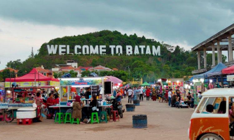 Fasilitas di Monumen Welcome to Batam