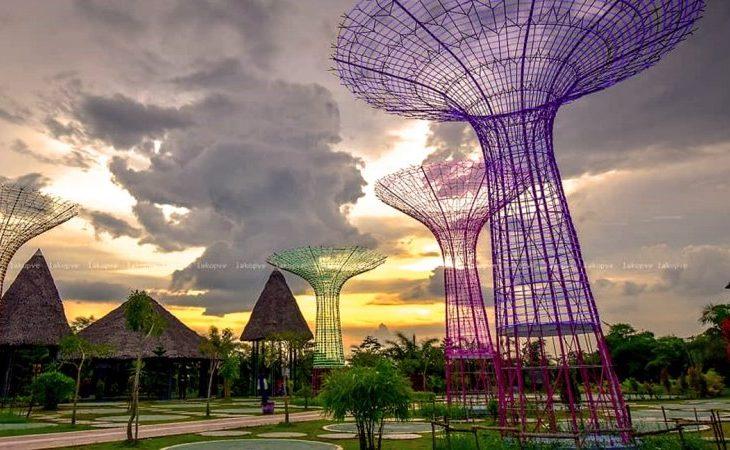 Jambi Paradise, Objek Wisata Kekinian & Hits Mirip Taman di Singapura