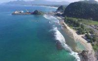 Pantai Lhoknga, Pantai Eksotis Favorit Peselancar di Aceh Besar