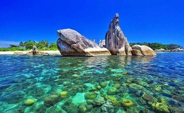 Intip Keindahan Alam Pulau Burung di Belitung
