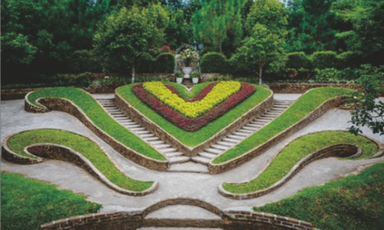 The Le Hu Garden, Taman Kekinian yang Tawarkan Spot Instagramable di Deli Serdang