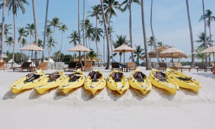 Fasilitas di Pulau Ranoh Batam