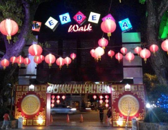 Merdeka Walk, Destinasi Wisata Malam & Kuliner di Kota Medan