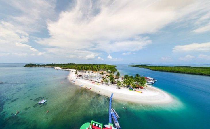 Pulau Ranoh, Pulau Cantik Tempat Berkemah ala Glamping di Batam