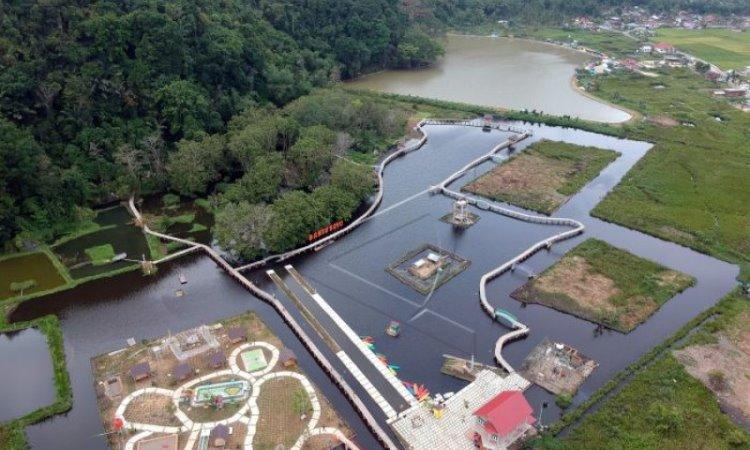 Banto Royo, Taman Rekreasi Air Kekinian yang Menakjubkan di Agam