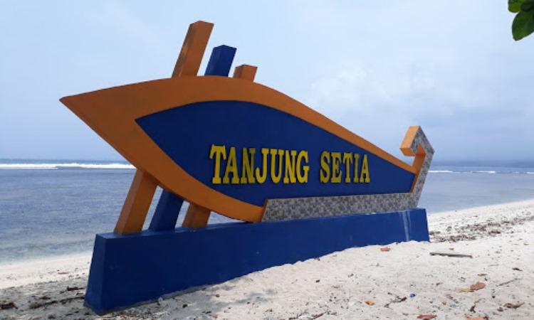 Alamat Menuju Pantai Tanjung Setia